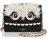 Kate Spade Imagination Toothy Monster Leather Shoulder Bag