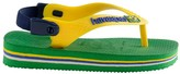 Havaianas Brasil Logo Baby Flip Flops