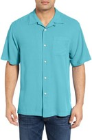 Tommy Bahama Men's 'Catalina Twill' Original Fit Silk Camp Shirt