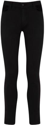 Paige Hoxton black panelled skinny jeans