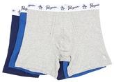 Original Penguin 100% Cotton 3 Pack Boxer Brief