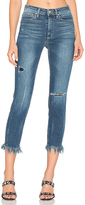 Joe's Jeans The Charlie High Rise Fray Hem Crop. - size 26 (also in 27,29)
