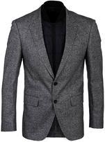 Boss Hadwart Grey Stretch Wool Jacket