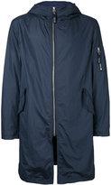 Factotum hooded raincoat