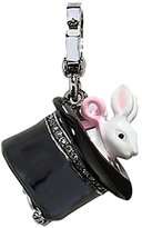 Juicy Couture Magician's Magic Top Hat with Bunny Charm - Special Silver Collection