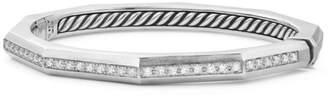 David Yurman Stax Channel-Set Diamond & Sterling Silver Bracelet