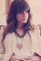 Luv Aj Arrowhead Tri Pendant Necklace in Brass / Copper