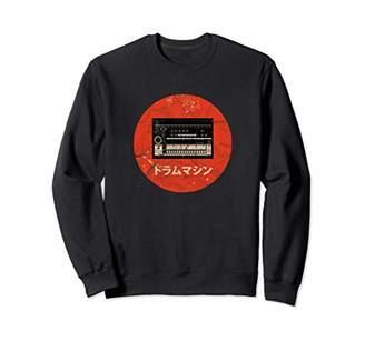 Vintage Japanese Drum Machine Analog Retro Synth Synthesizer Sweatshirt