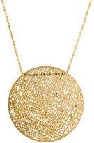 Yossi Harari 18K Wire Lace Diamond Necklace