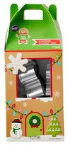 Wilton 7Pc Stainless Steel Cookie Cutters