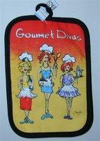 Gourmet Divas Potholder