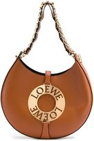 Loewe 'Joyce' bag - women - Calf Leather/Sheep Skin/Shearling/Gold Plated Brass - One Size
