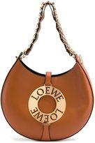 Loewe medium 'Joyce' shoulder bag - women - Calf Leather/Sheep Skin/Shearling/Gold Plated Brass - One Size