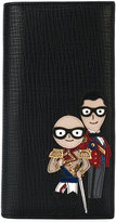 Dolce & Gabbana wallet with designers' patches - men - Leather - One Size