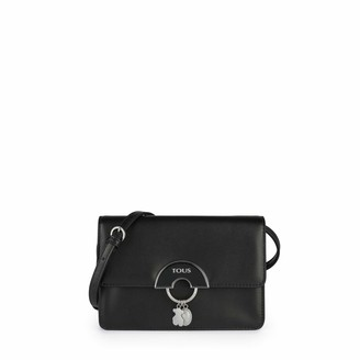 Tous Hold Womens Messenger Bag Black (Negro 995890572) 20x13x6 centimeters (W x H x L)