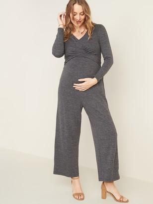 Old Navy Maternity Twist-Front Tie-Waist Jumpsuit