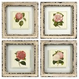 "Aurora Decorative Wall Art Set - Cream (11 X 11.5 X 4.5"")"