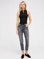 Free People High Rise Roller Skinny