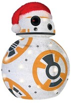 "Star Wars 28"" Tinsel Lit Collapsible BB8"