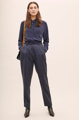 Anthropologie Allana Tapered Trousers