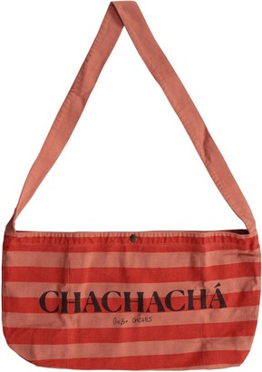 Bobo Choses Red Bag With Stripes For Kids