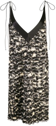Proenza Schouler Printed Fil Coupe Shift Dress