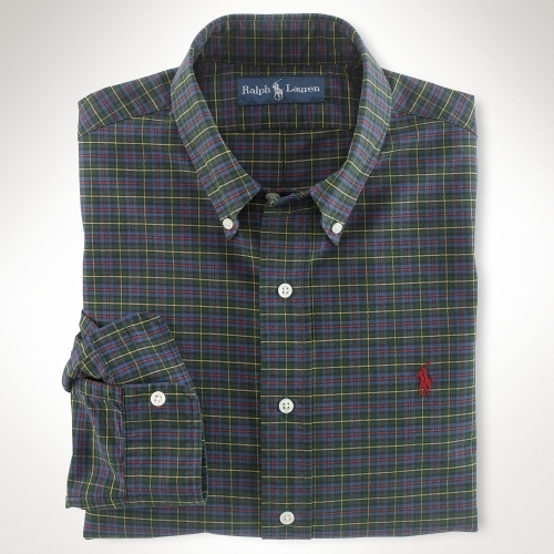 Polo Ralph Lauren Big & Tall Classic-Fit Plaid Poplin