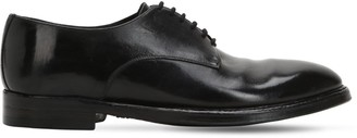 Alberto Fasciani 25mm Polished Horse Leather Derby Shoes