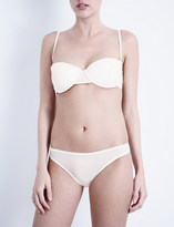 Bodas Sheer Tactel strapless balconette bra