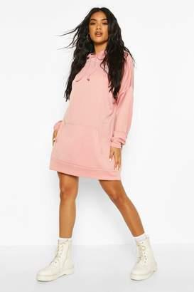 boohoo The Perfect Oversized Hooded Sweat Dress