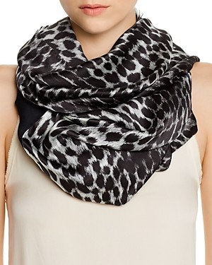 Echo Cheetah Print Oblong Tubular Scarf - 100% Exclusive