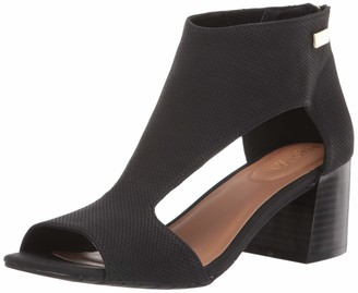 Kenneth Cole Reaction Women's Mix Cut Out T-Strap Heeled Sandal