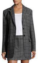 Tibi Aldridge Tweed Blazer