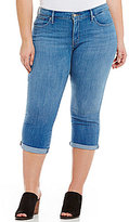 Levi's Plus Rolled Cuff Shaping Capri