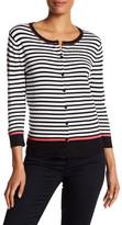Susina Stripe Knit Cardigan