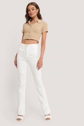 Trendyol Wos High Waist Flare Jeans