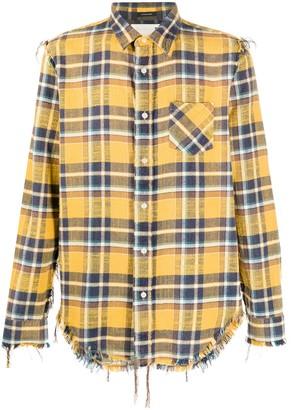 R 13 Plaid Long-Sleeve Shirt