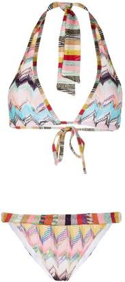 Missoni Mare Zigzag-Knitted Bikini