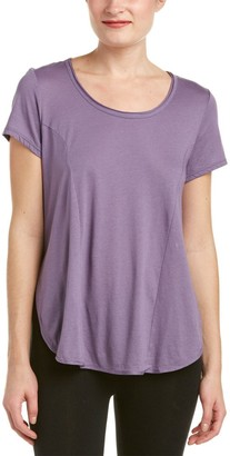 Yummie by Heather Thomson Women's Pima Jersey Tee with Side Vents