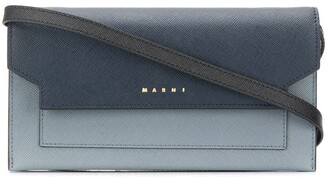 Marni Bellows wallet with strap