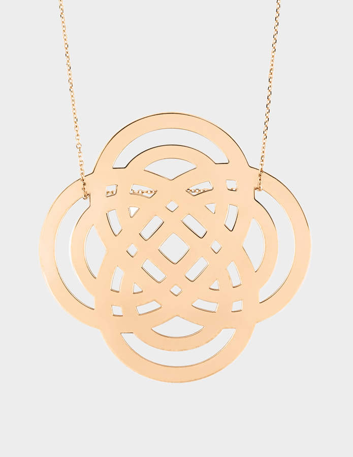 ginette_ny Purity 18-karat rose gold necklace
