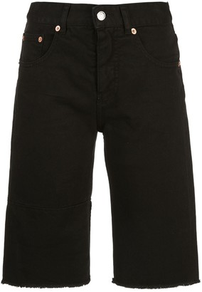 MM6 MAISON MARGIELA cycling-style slim-fit shorts