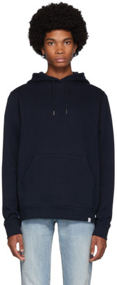 Norse Projects Navy Vagn Hoodie