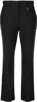 Diesel Micro-Studded Wool Trousers