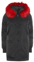 Kenzo Fur-trimmed Down-filled Parka