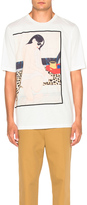 3.1 Phillip Lim Woman Seated On Leopard Tee