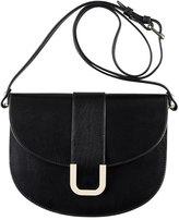 A.P.C. Soho Leather Crossbody Bag, Black