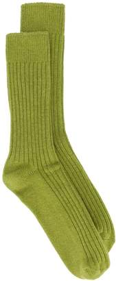 Holland & Holland mid-calf ribbed socks
