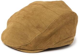 Frye Canvas Newsboy Hat