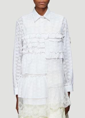 MONCLER GENIUS Moncler X Simone Rocha Tiered Ruffled Shirt
